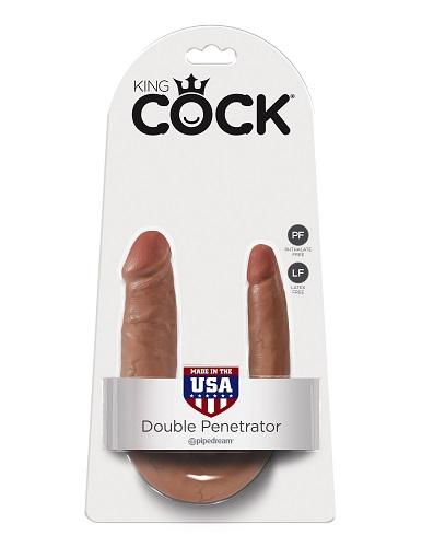PipeDream King Cock Double Penetrator Фаллоимитатор реалистик двусторонний загар