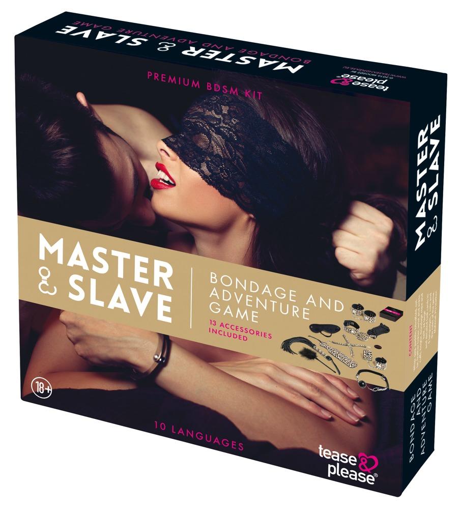 Tease & please Набор для подневолья Master & Slave