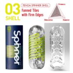 TENGA SPINNER Мастурбатор Shell